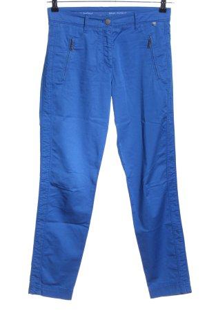Brax Röhrenhose blau Casual-Look