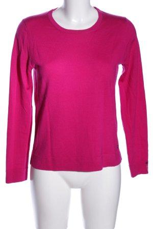 Brax Rundhalspullover pink Casual-Look
