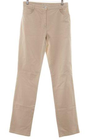 Brax Schlaghose beige Casual-Look