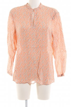 Brax Schlupf-Bluse grafisches Muster Casual-Look