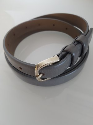 Brax Leather Belt gold-colored-grey