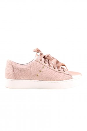 Brax Schnürsneaker pink Animalmuster Casual-Look