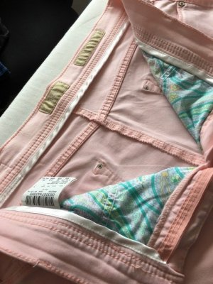 Brax feel Good 7/8 Length Trousers pink cotton