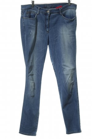 Brax Skinny Jeans stahlblau Casual-Look
