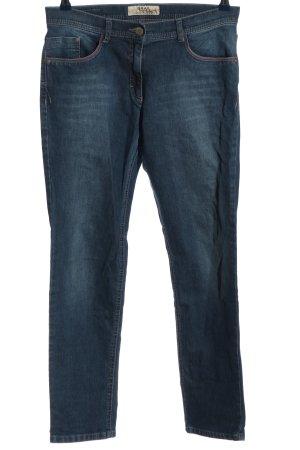 Brax Dopasowane jeansy niebieski W stylu casual