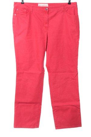 Brax Slim jeans rood casual uitstraling