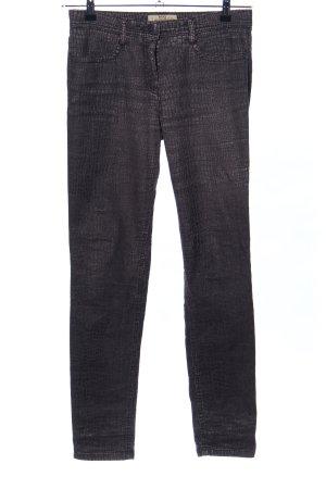 Brax Jeans slim bronze-noir imprimé allover style décontracté