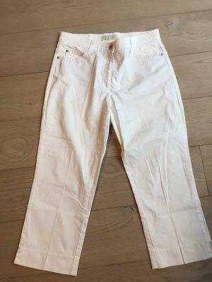 Brax 7/8 Length Trousers white