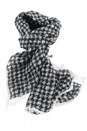 Brax Summer Scarf black-natural white allover print casual look