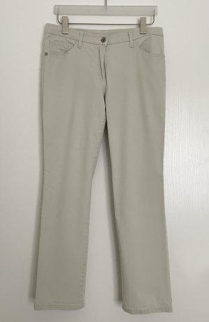 Brax Spodnie z pięcioma kieszeniami jasnobeżowy Bawełna