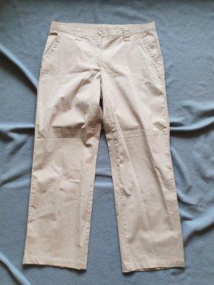 Brax Jeans met rechte pijpen goud-zandig bruin Katoen