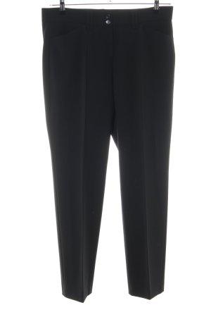 Brax Pantalone sfoderato nero stile professionale