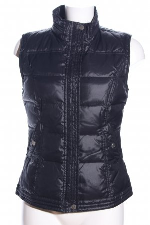 Brax Quilted Gilet black quilting pattern simple style