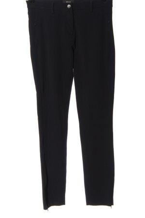 Brax Pantalone jersey nero stile professionale