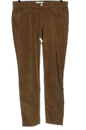 Brax Stoffhose bronzefarben Casual-Look
