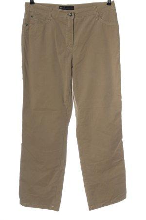 Brax Pantalone jersey marrone stile casual