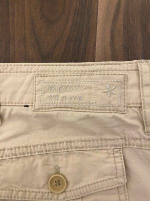 Brax Pantalon en jersey crème-beige clair