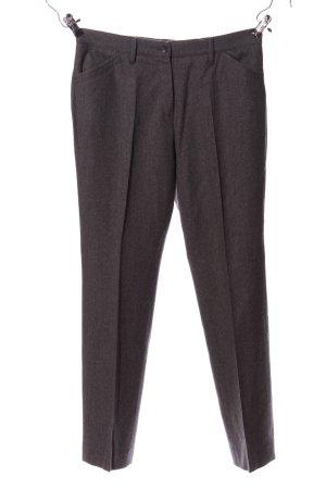 Brax Pantalon en jersey gris clair style d'affaires