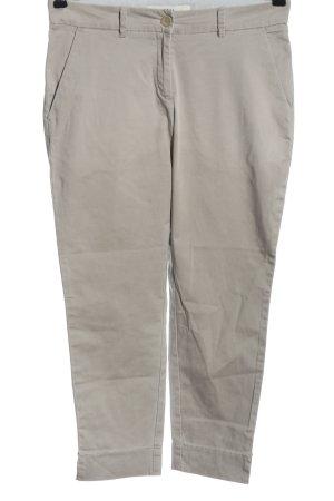 Brax Pantalon en jersey gris clair style décontracté