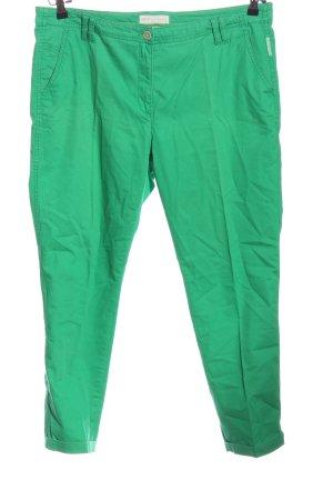 Brax Stoffhose grün Casual-Look