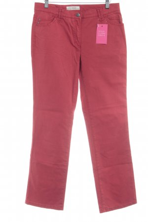 Brax Stoffhose rot-silberfarben Casual-Look