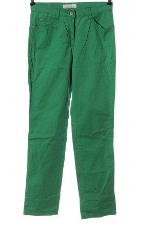 Brax Jeansy z prostymi nogawkami zielony W stylu casual