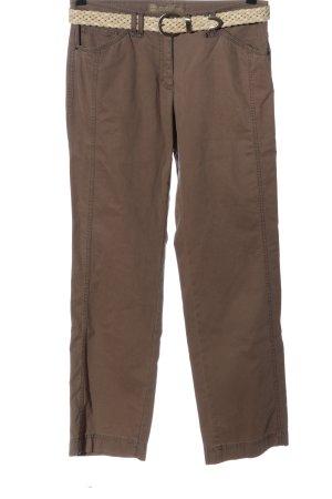 Brax Jeansy z prostymi nogawkami brązowy-kremowy W stylu casual