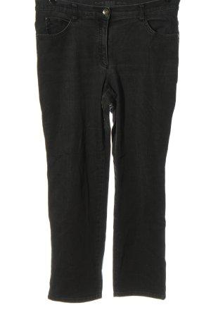 Brax Jeans a gamba dritta nero stile casual