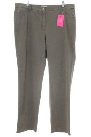 Brax Straight-Leg Jeans khaki Street-Fashion-Look