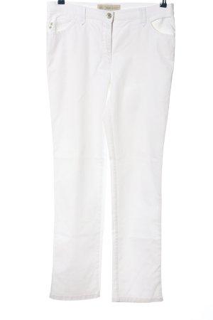 Brax Jeansy z prostymi nogawkami biały W stylu casual