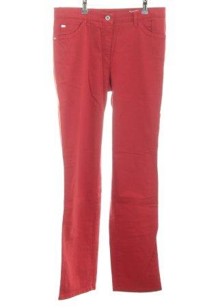 Brax Straight-Leg Jeans rot Casual-Look