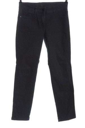 Brax Jeansy z prostymi nogawkami khaki-czarny Na całej powierzchni