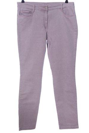 Brax Straight-Leg Jeans lila Casual-Look