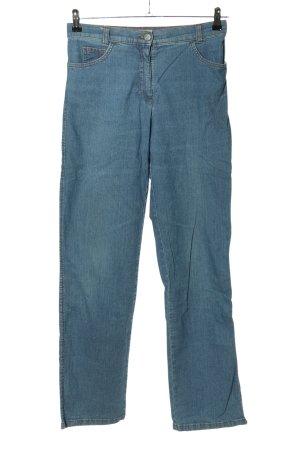 Brax Jeansy z prostymi nogawkami niebieski W stylu casual