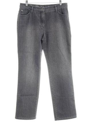 Brax Straight-Leg Jeans dunkelgrau Casual-Look