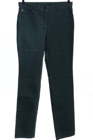 Brax Straight-Leg Jeans grün Casual-Look