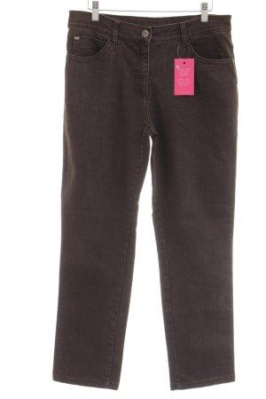 Brax Jeansy z prostymi nogawkami szaro-brązowy W stylu casual