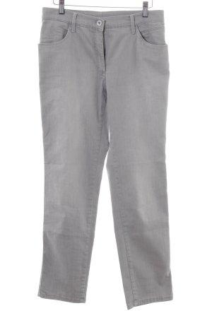 Brax Straight-Leg Jeans hellgrau schlichter Stil