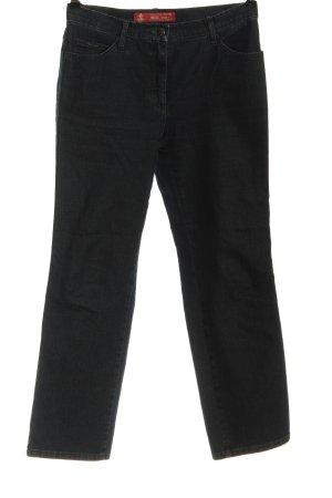 Brax Jeansy z prostymi nogawkami czarny W stylu casual