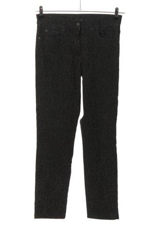 Brax Jeansy ze stretchu czarny Na całej powierzchni W stylu casual