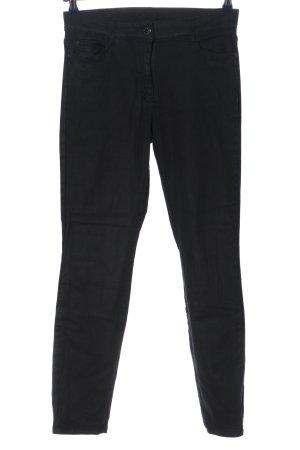 Brax Spodnie ze stretchu czarny W stylu casual