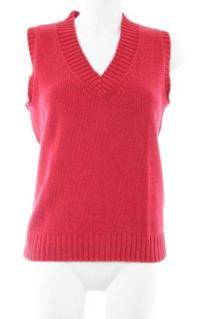 Brax Pull tricoté rouge style décontracté