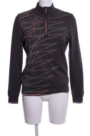 Brax Sweatshirt abstraktes Muster Casual-Look