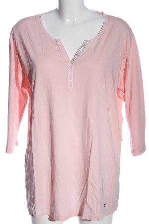 Brax Koszulka z dekoltem w kształcie litery V różowy W stylu casual