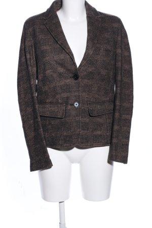 Brax Wool Blazer brown-natural white check pattern business style