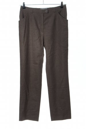 Brax Wollhose braun meliert Business-Look
