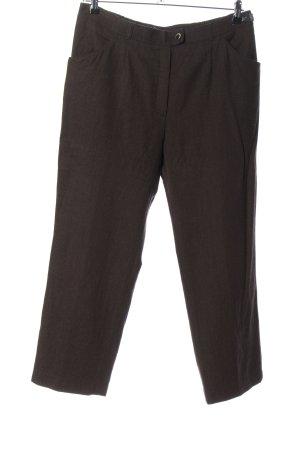 Brax Woolen Trousers brown casual look