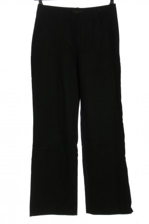 Brax Pantalón de lana negro estilo «business»