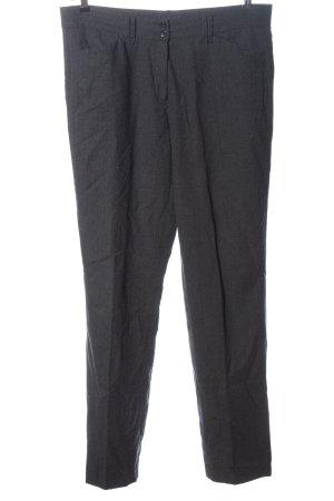 Brax Wełniane spodnie jasnoszary W stylu biznesowym