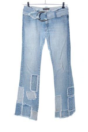Bray Steve Alan Jeansschlaghose blau Casual-Look